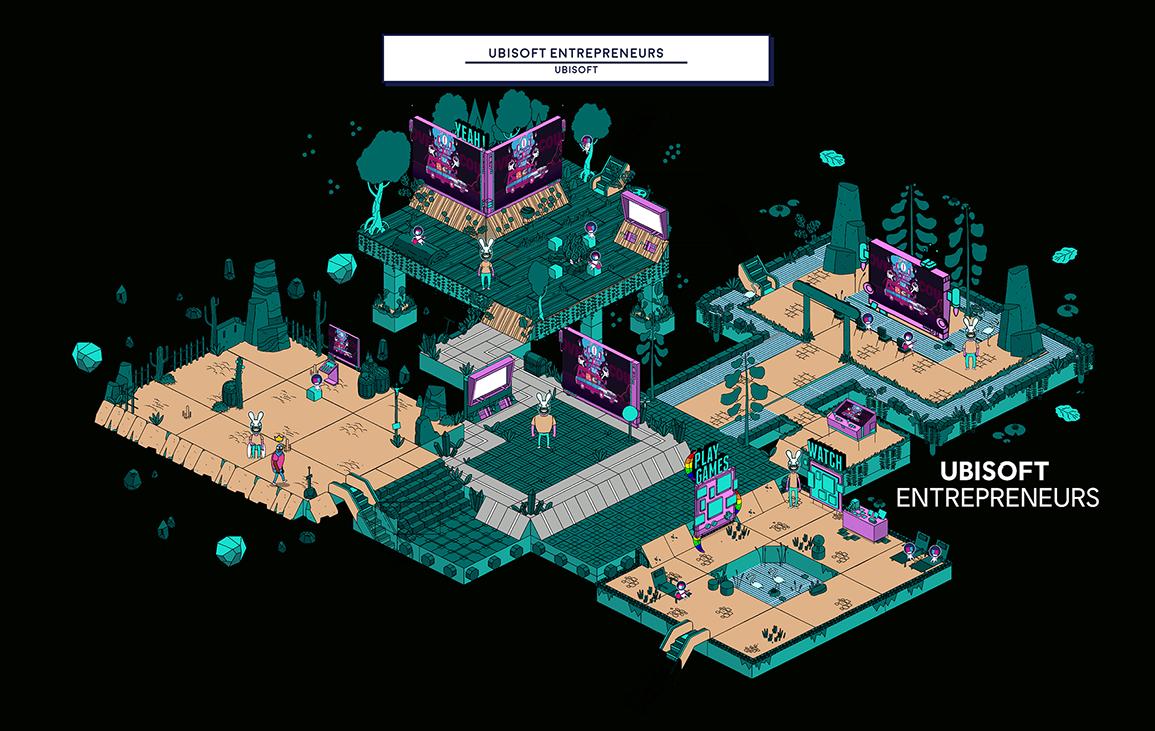 Ubisoft Indie Arena Booth 2020 - Ubisoft Entrepreneurs