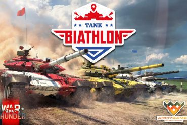 War Thunder Biatlón de Tanques