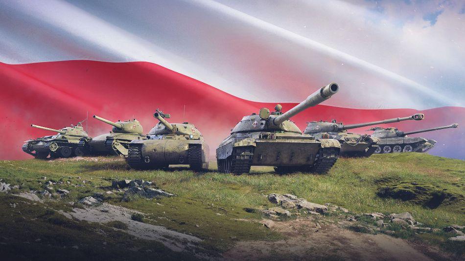 World of Tanks actualización 1.10 - Artwork Polish Tanks