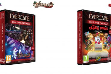 Evercade - XENOCRISIS-TANGLEWOOD-OLIVER TWINS_COLLECTION