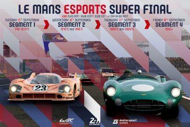 Le Mans eSports Series 2020 Super Final