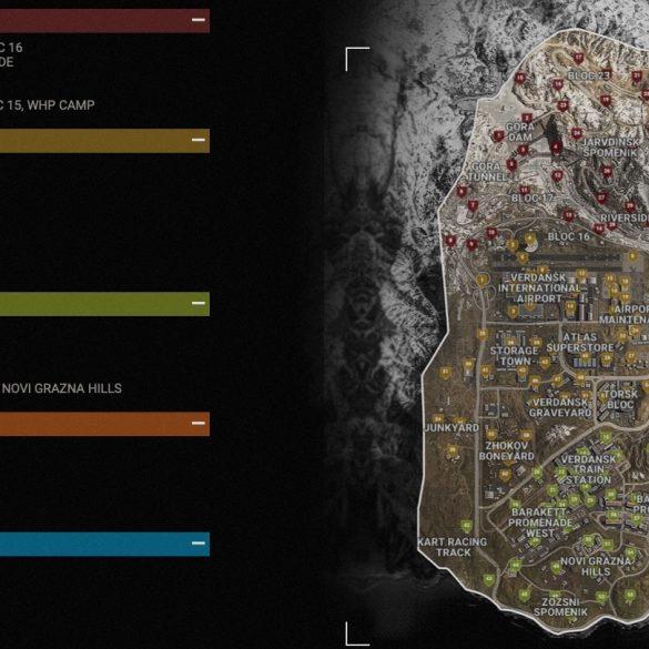 Mapa de Verdansk