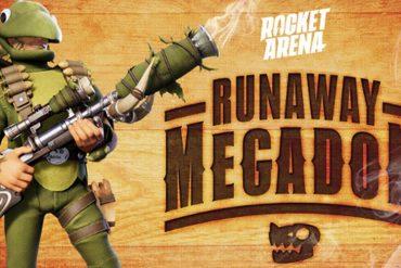 Rocket Arena Evento Megadón a la Fuga