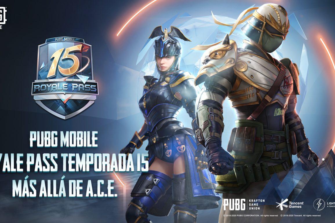 """Royale Pass de PUBG Mobile """"Más Allá De A.C.E"""""""