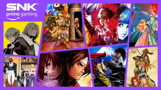 SNK Amazon Prime Gaming 3ra serie