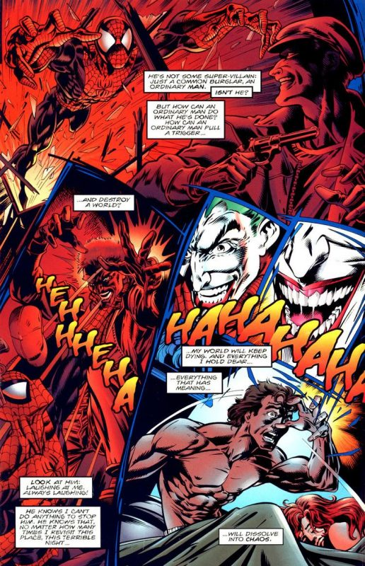 Spider-man y Batman comic