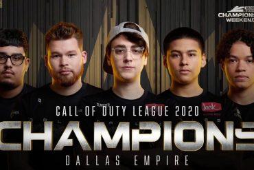 Dallas Empire campeones CDL 2020
