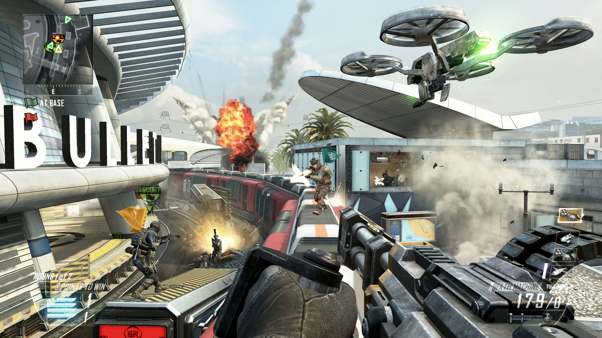 Call of Duty: Black Ops 2, video game screen