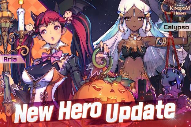 Kingdom of Heroes Tactics War Aria & Calypso