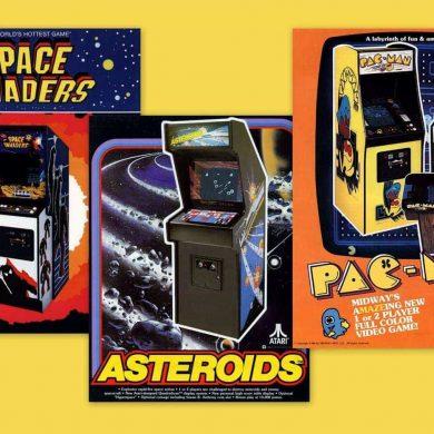 arcades 80's