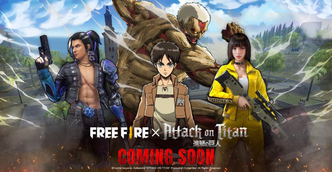 Attack on Titan on Free Fire