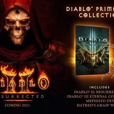 Diablo II Resurrected Prime Evil Collection