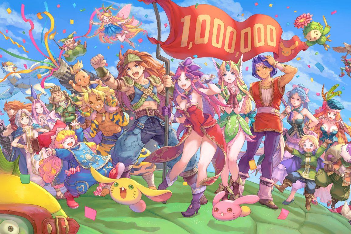 Trials of Mana 1 million