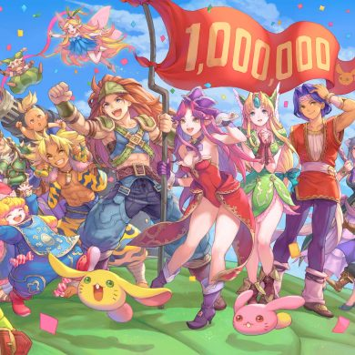 Trials of Mana 1 million