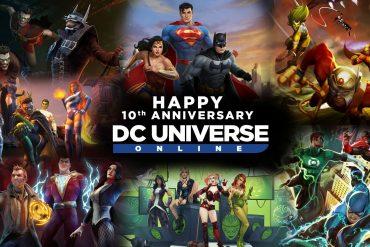 DC Universe Online 10th Anniversary