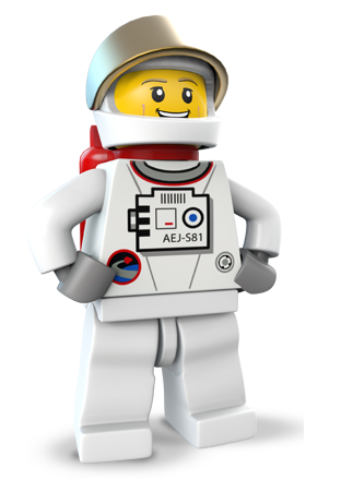 LEGO City Undercover - Chase astronauta
