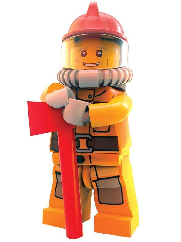 LEGO City Undercover - Chase bombero