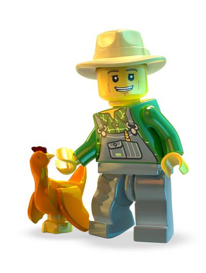 LEGO City Undercover - Chase granjero