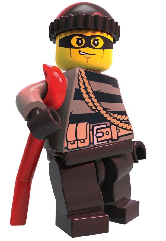 LEGO City Undercover - Chase ladrón