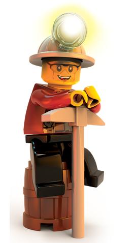 LEGO City Undercover - Chase minero