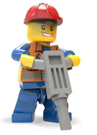 LEGO City Undercover - Chase obrero
